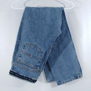 Vintage Tommy Hilfiger High Waist Jeans Spellout